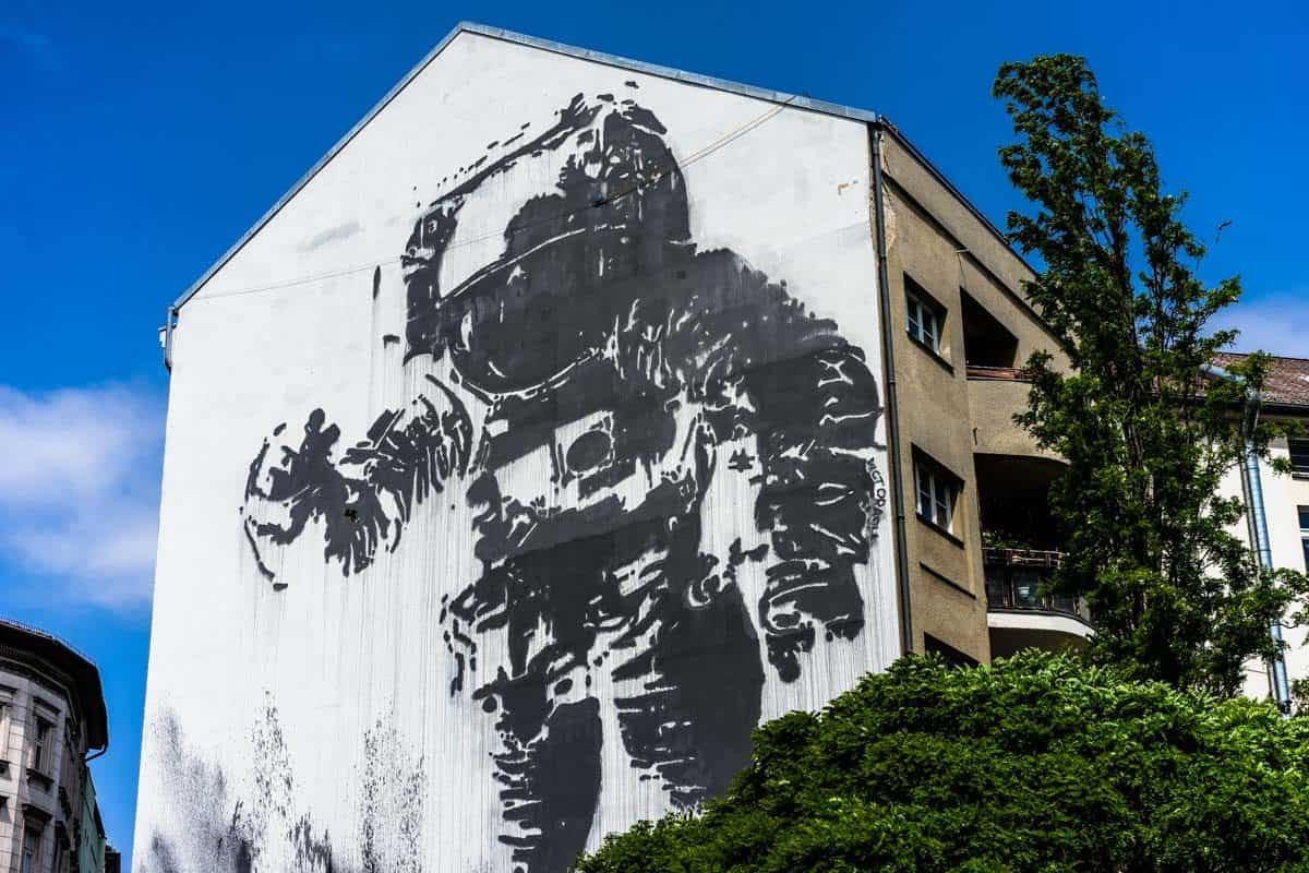 Victor Ash Astronaut Street Art Tour 8 Awesome Things To Do In Berlin