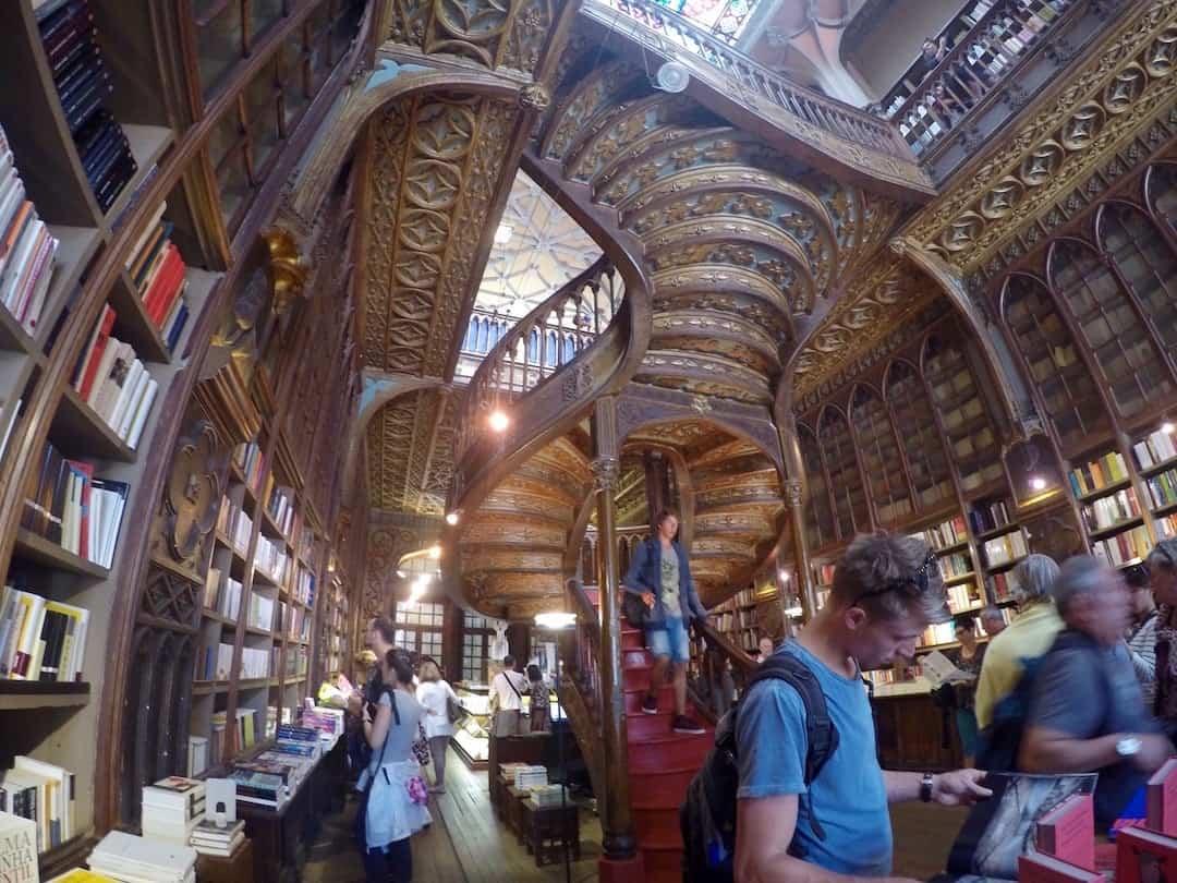Livaria Lello Things To Do In Porto