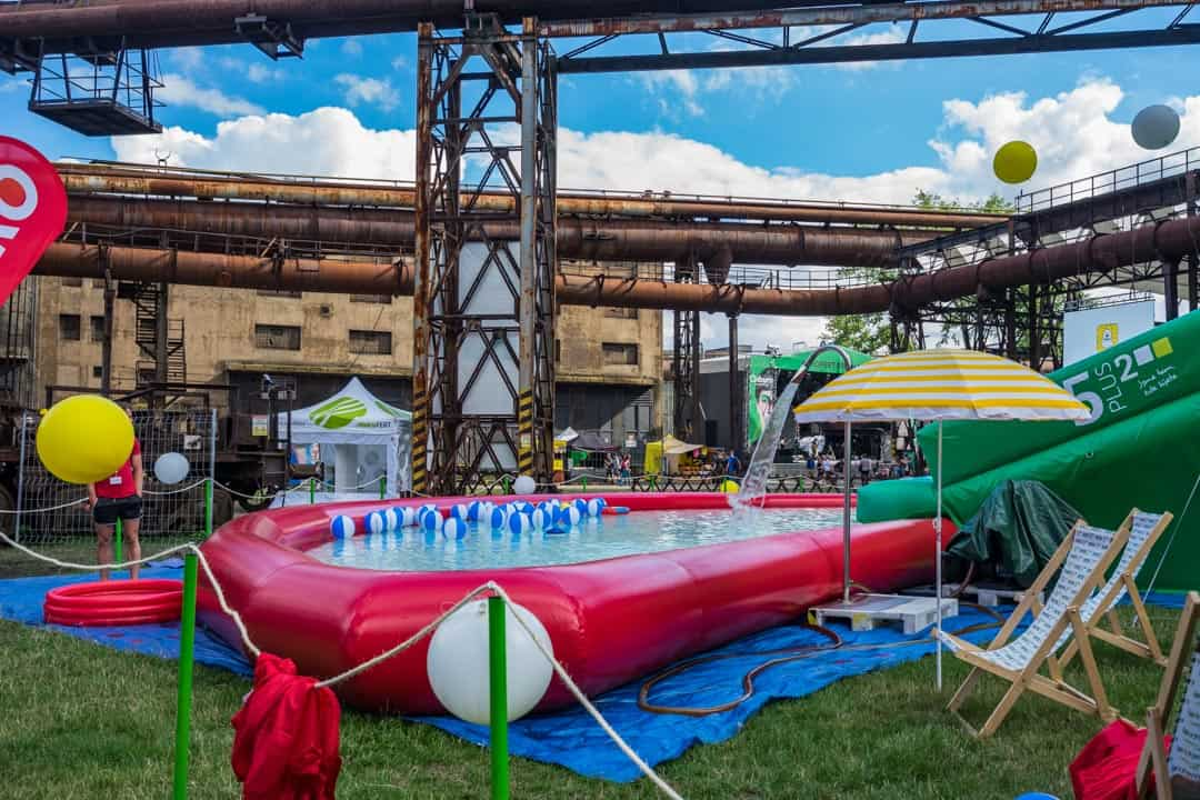 Inflatable Pool Colours Of Ostrava Review