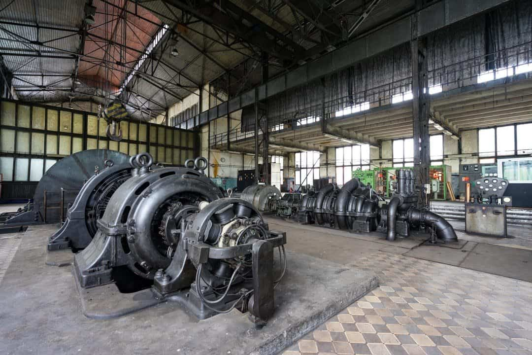 Engine Room History Of Mining In Ostrava