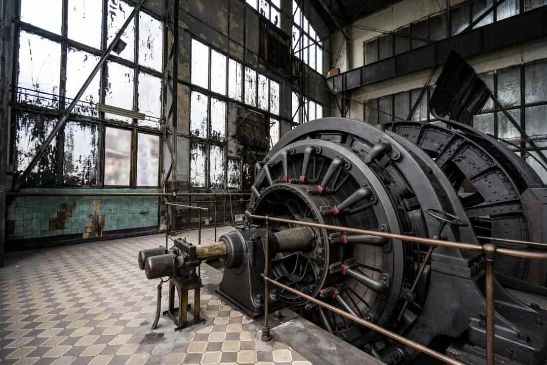 Elevator Engine History Of Mining In Ostrava