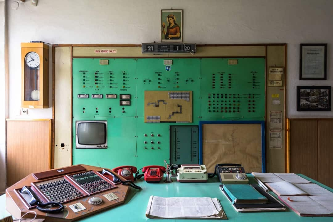 Switchboard History Of Mining In Ostrava