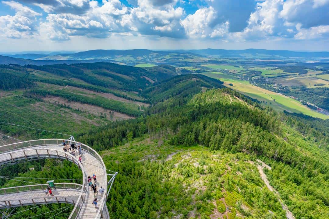 Czech Republic Sky walk Things To Do In Jeseniky Mountains