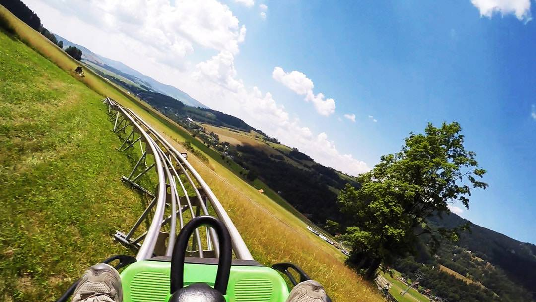 Bobsled Mountain Roller Coaster Things To Do In Jeseniky Mountains