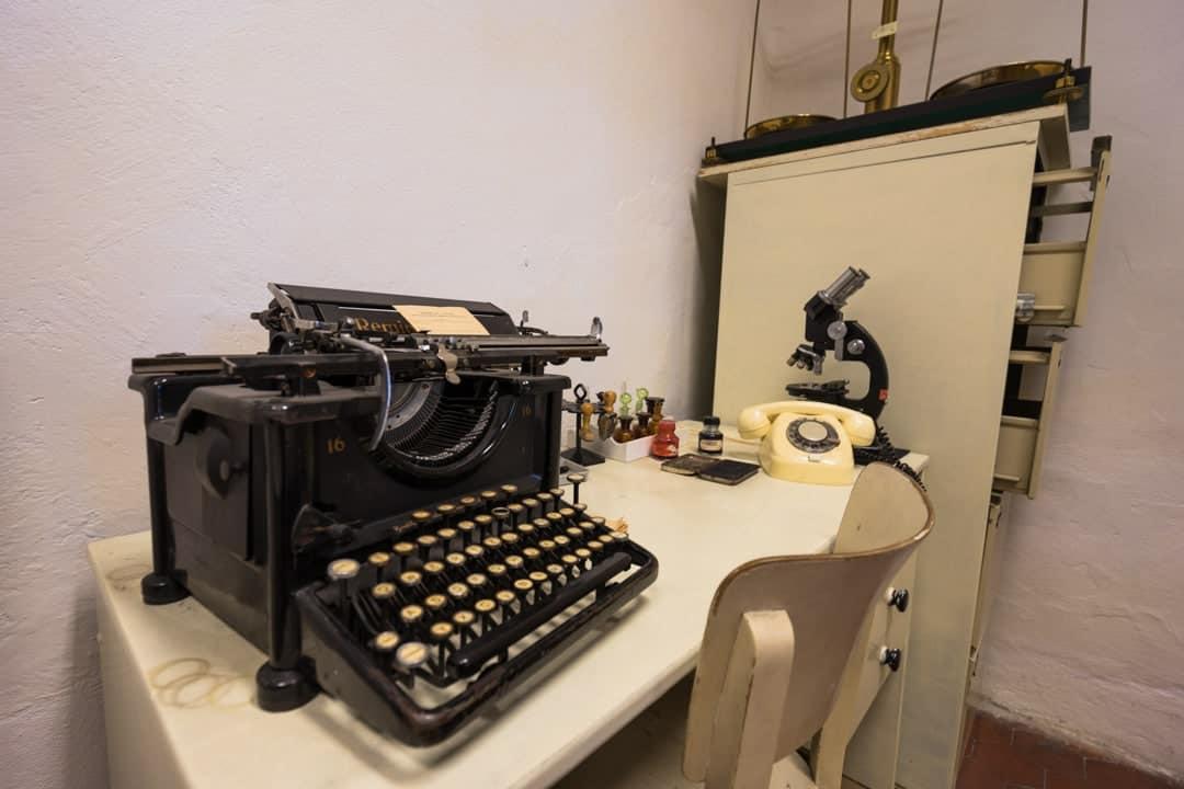 Typewriter History Of Mining In Ostrava