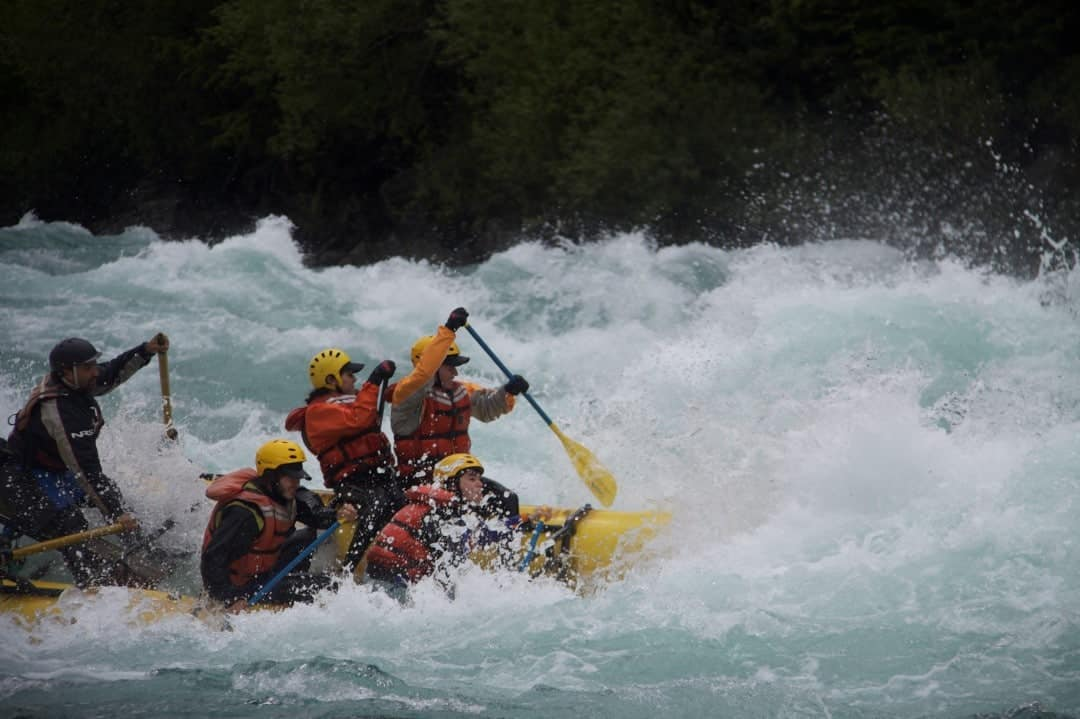 Rafting at Futaleufu
