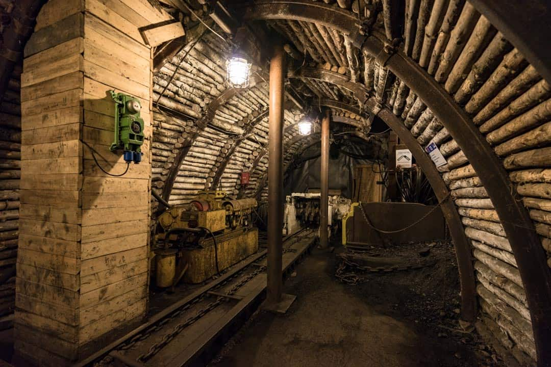 Underground Landek Park History Of Mining In Ostrava