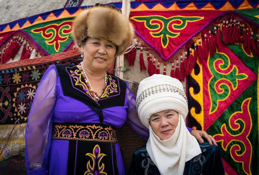 Ladies Clothes People Of World Nomad Games Kyrgyzstan