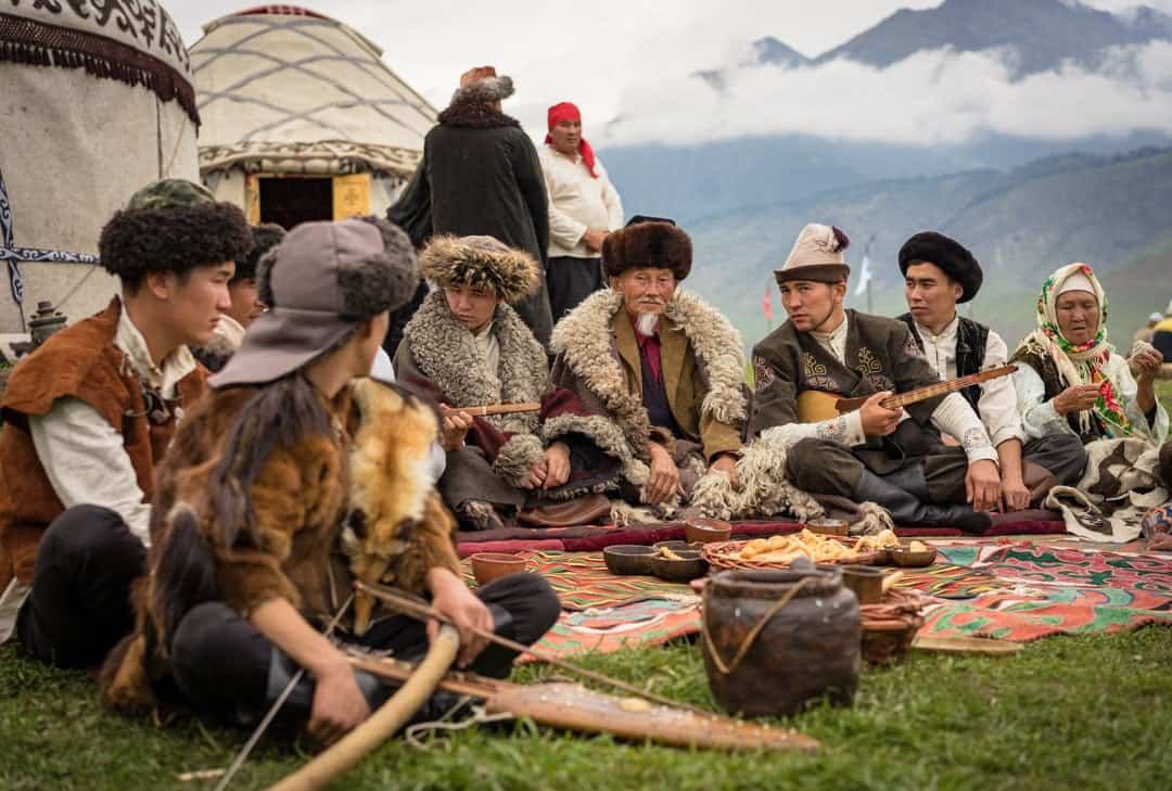Old Men People Of World Nomad Games Kyrgyzstan