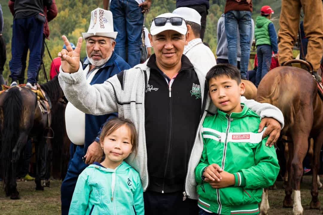Family People Of World Nomad Games Kyrgyzstan