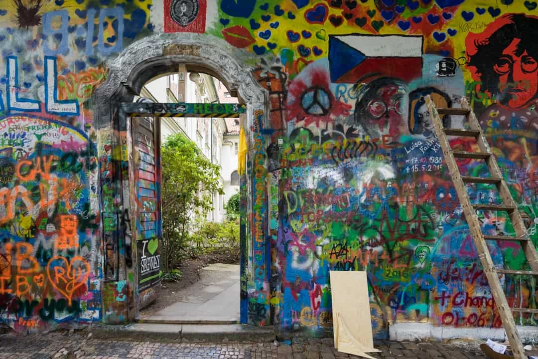 John Lennon Wall Things To Do In Prague
