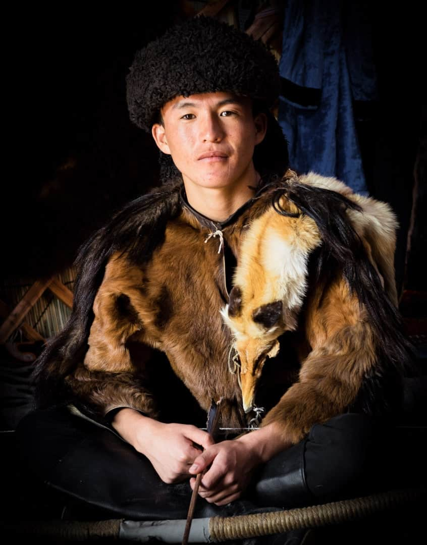 Kyrgyz Man People Of World Nomad Games Kyrgyzstan
