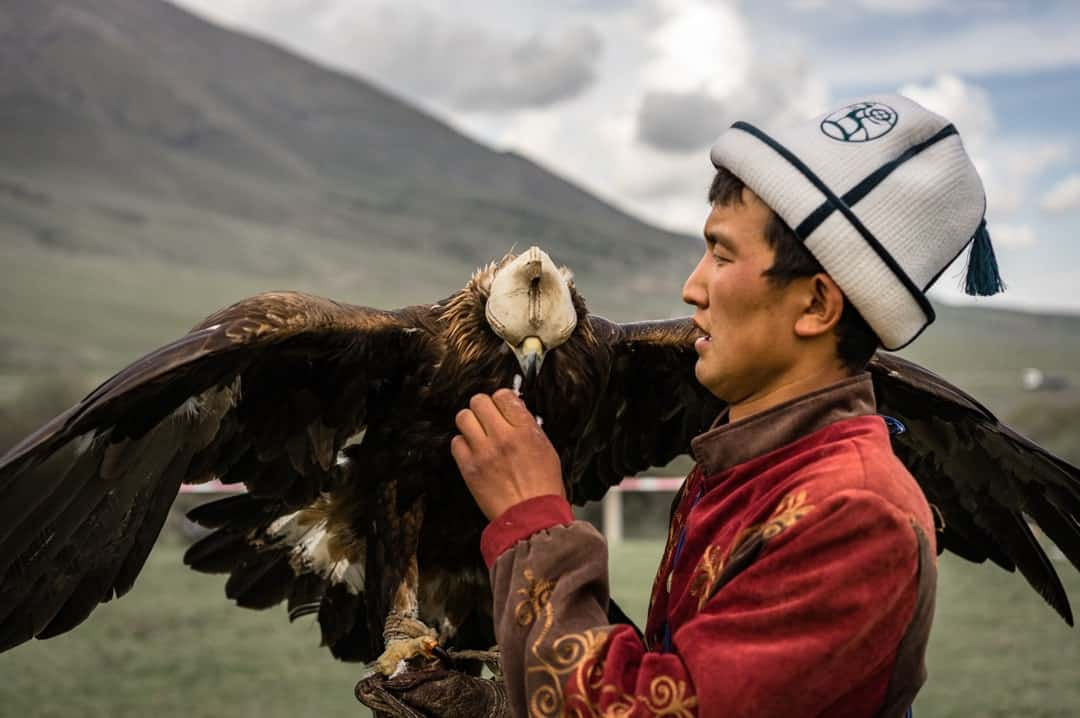 Eagle Hunter People Of World Nomad Games Kyrgyzstan
