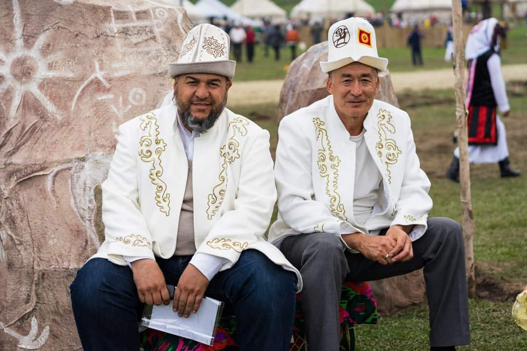 Men Waiting People Of World Nomad Games Kyrgyzstan