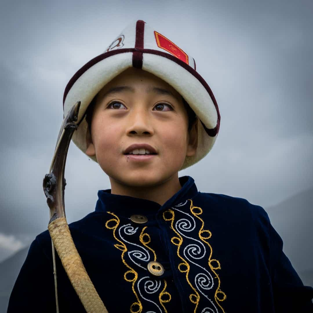 Young Archer People Of World Nomad Games Kyrgyzstan