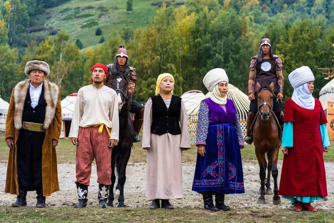 Traditional Clothes Kyrgyzstan