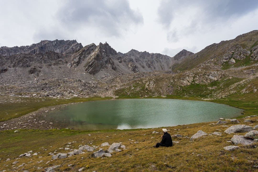 First Lake Jyrgalan Trek