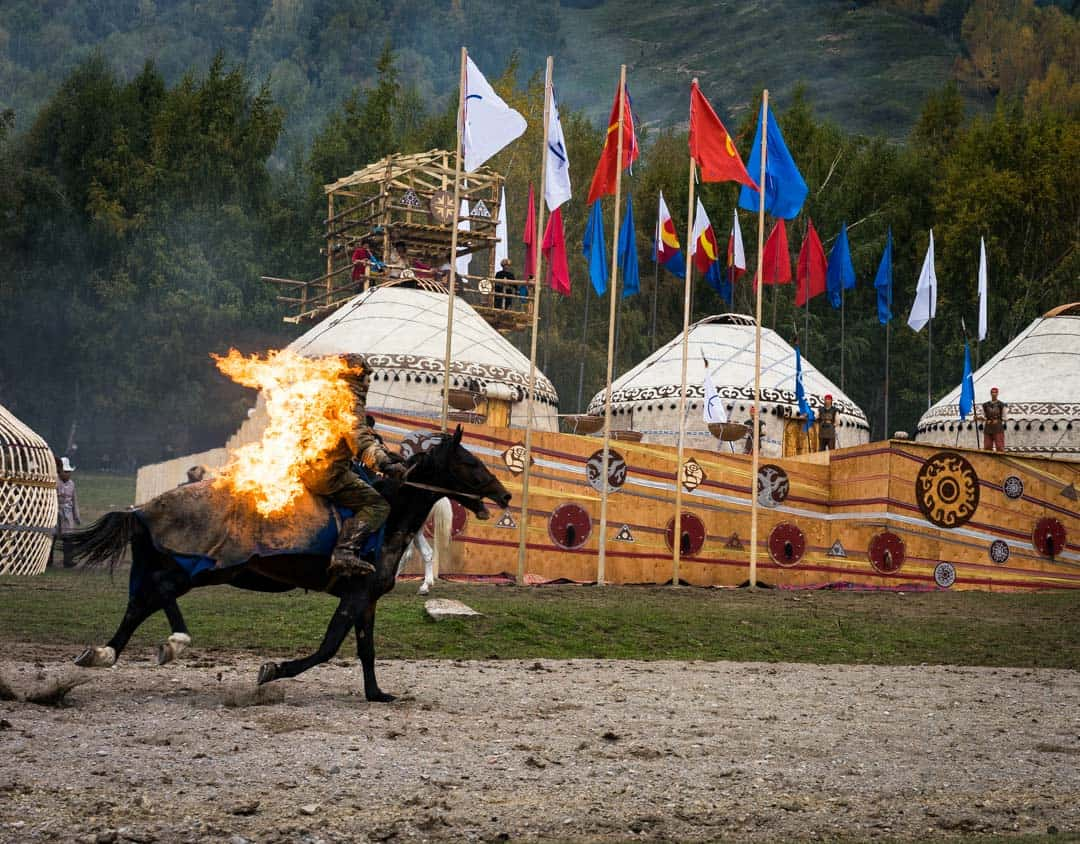 Flaming Horse World Nomad Games