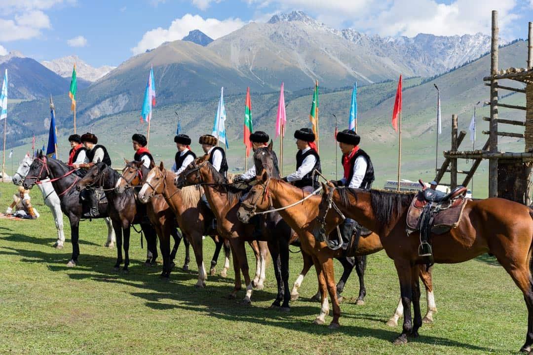 Men Horseback