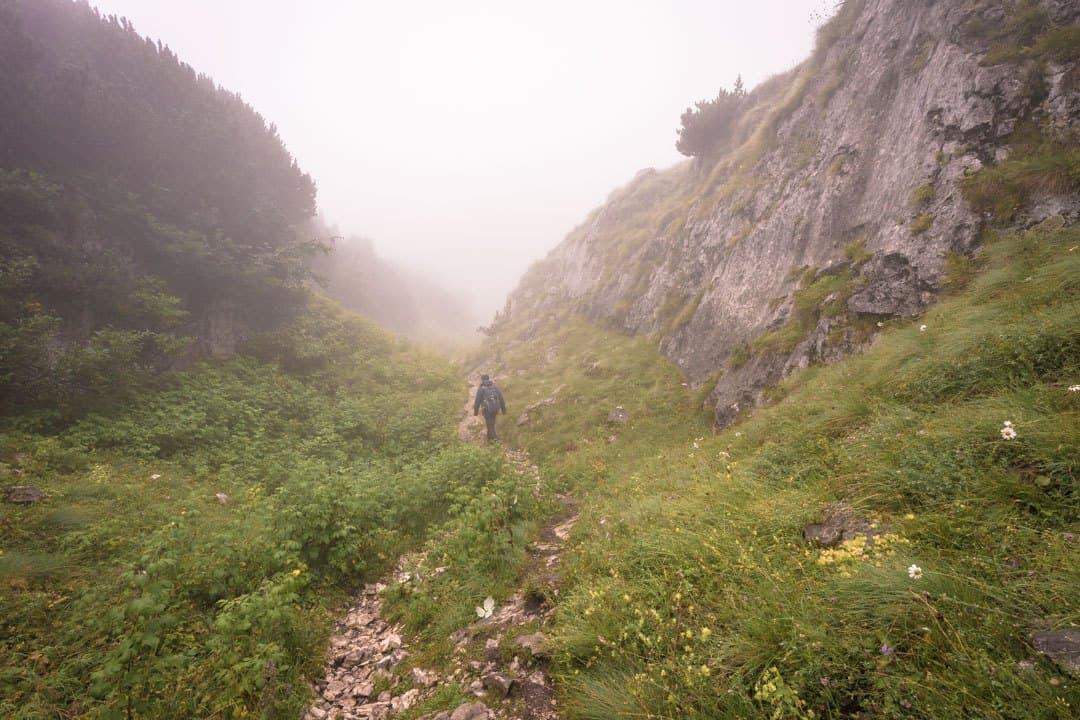 Fog Durmitor National Park Montenegro