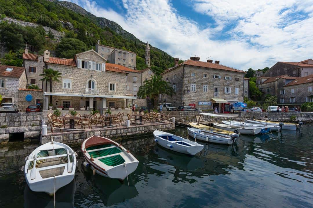 Boats Perast Things To Do In Kotor