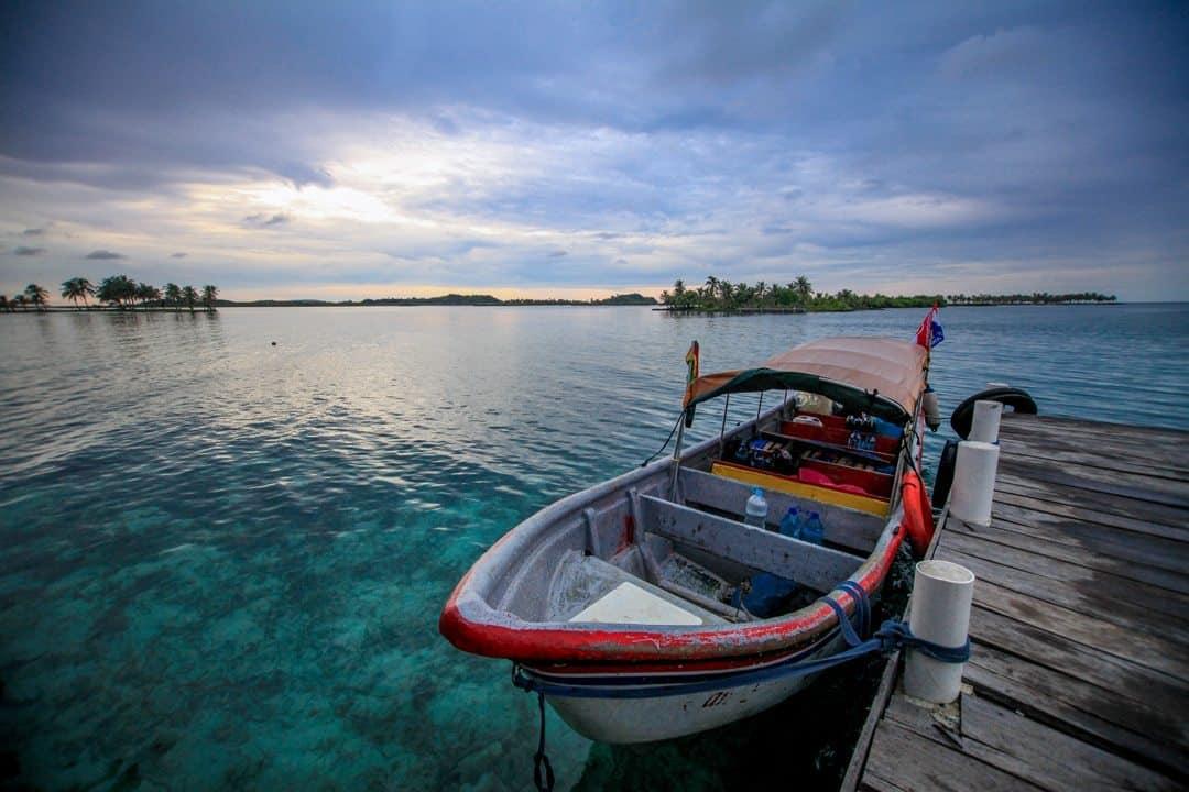 San Blas Island By Speedboat