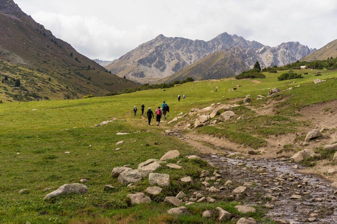 Hiking Jyrgalan Trek