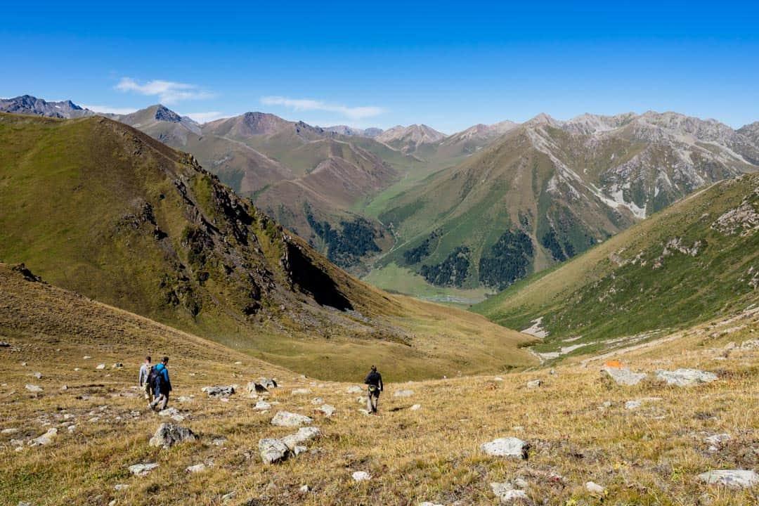 Descent Terim Tor Bulak Pass