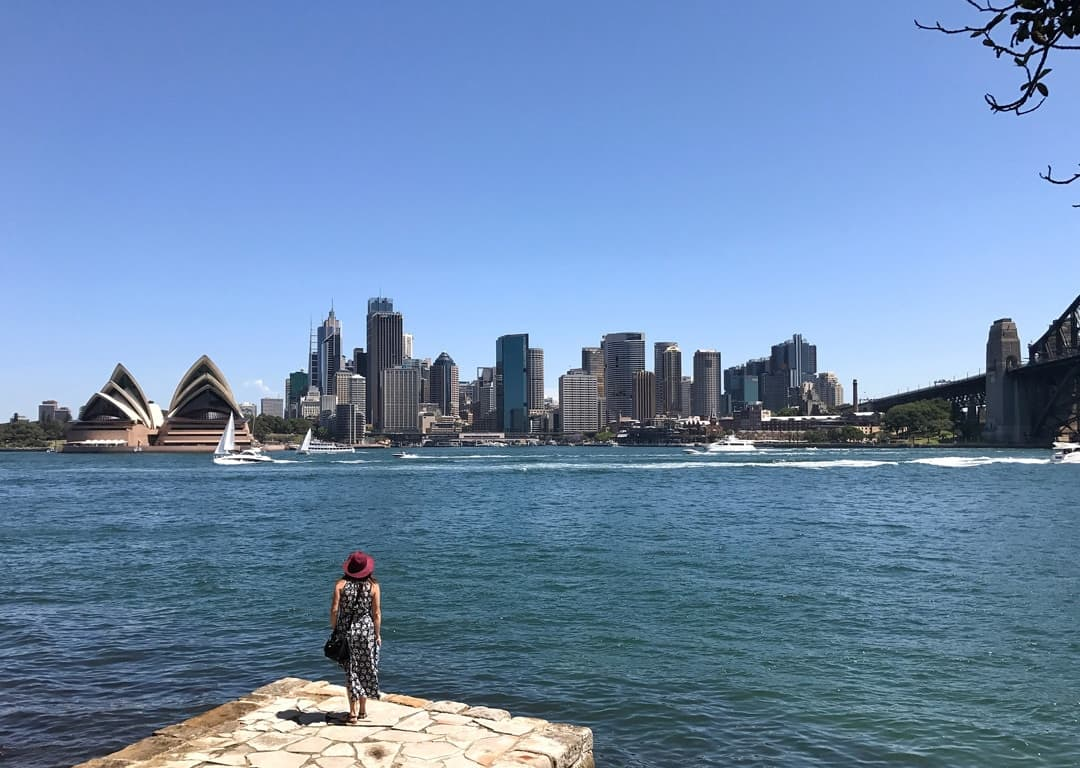 Loving the Sydney Harbour Views