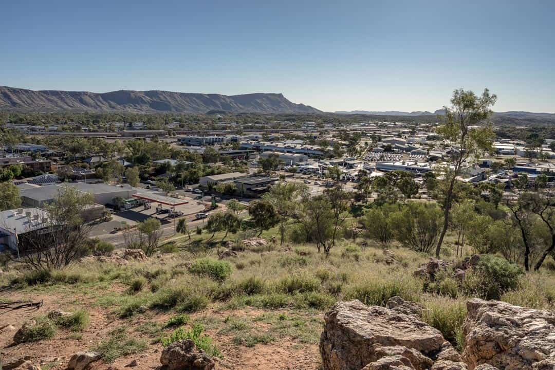 Anzac Hill Alice Springs Simpsons Gap The Ghan Off Train Excursion