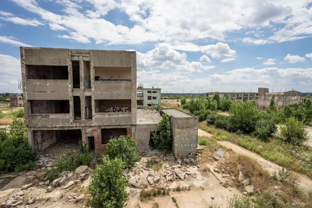 Bucharest Beautiful Decay Tour