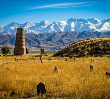 Burana Tower Kyrgyzstan Silk Road Photo Journey