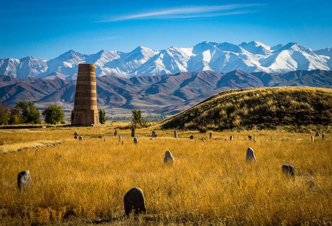 Photos Of Kyrgyzstan Burana-Tower