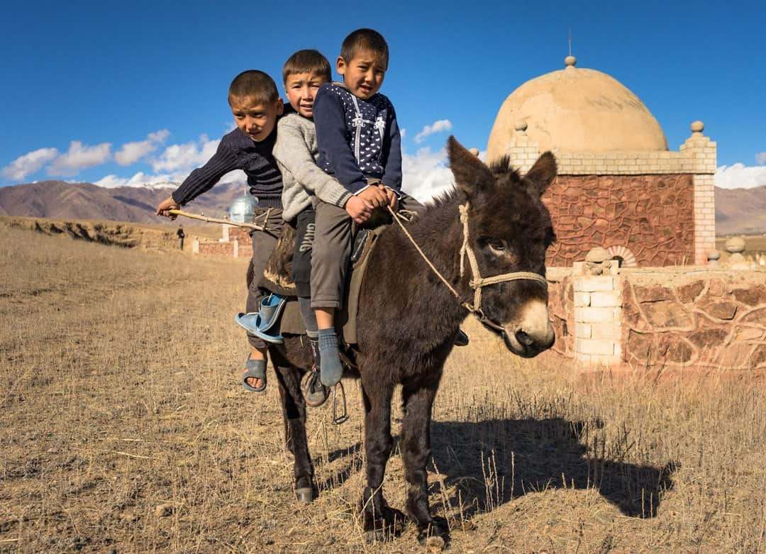 Photos Of Kyrgyzstan Donkey-Boys