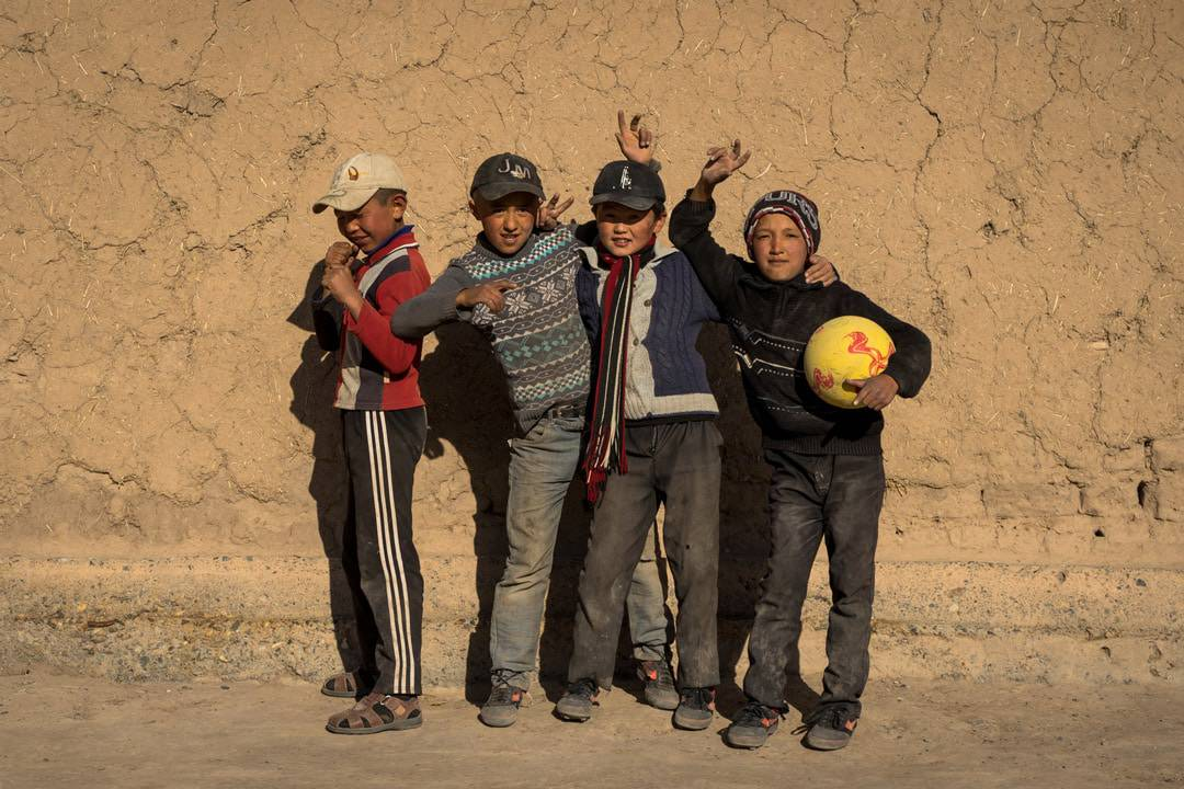 Sary Moghul Kids Football Photos Of Kyrgyzstan