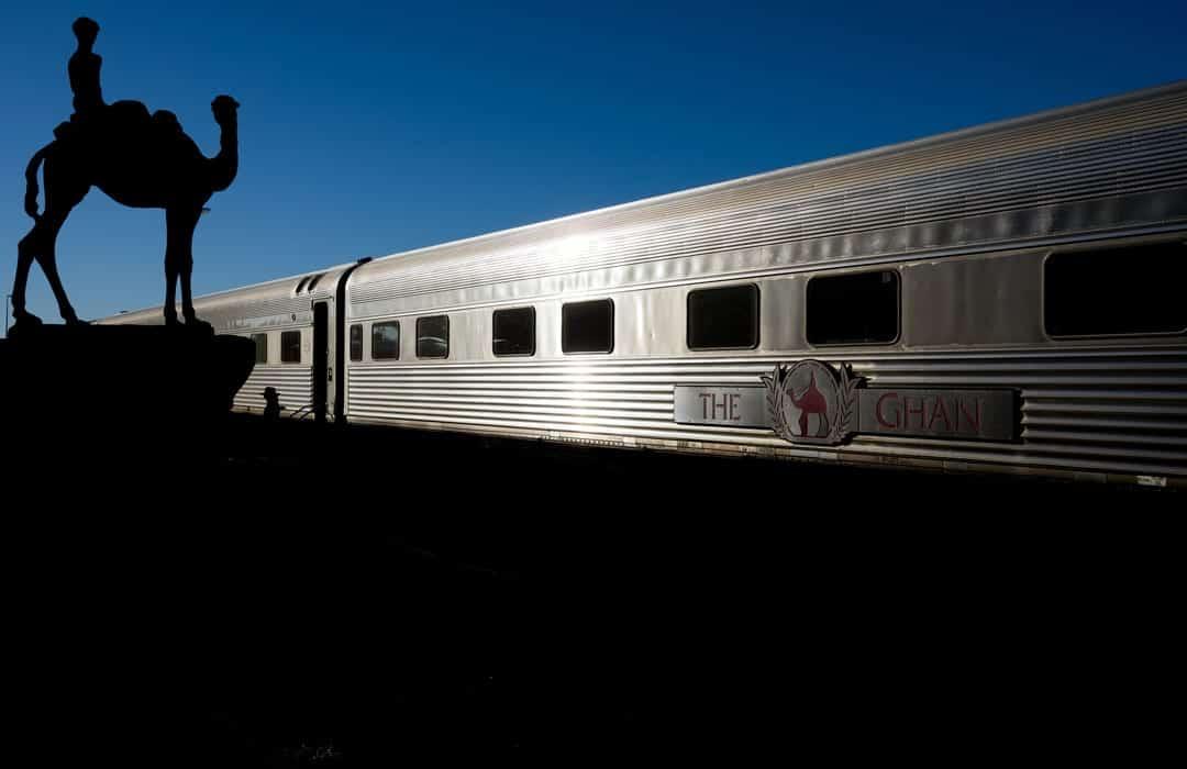 Train Simpsons Gap The Ghan Off Train Excursion