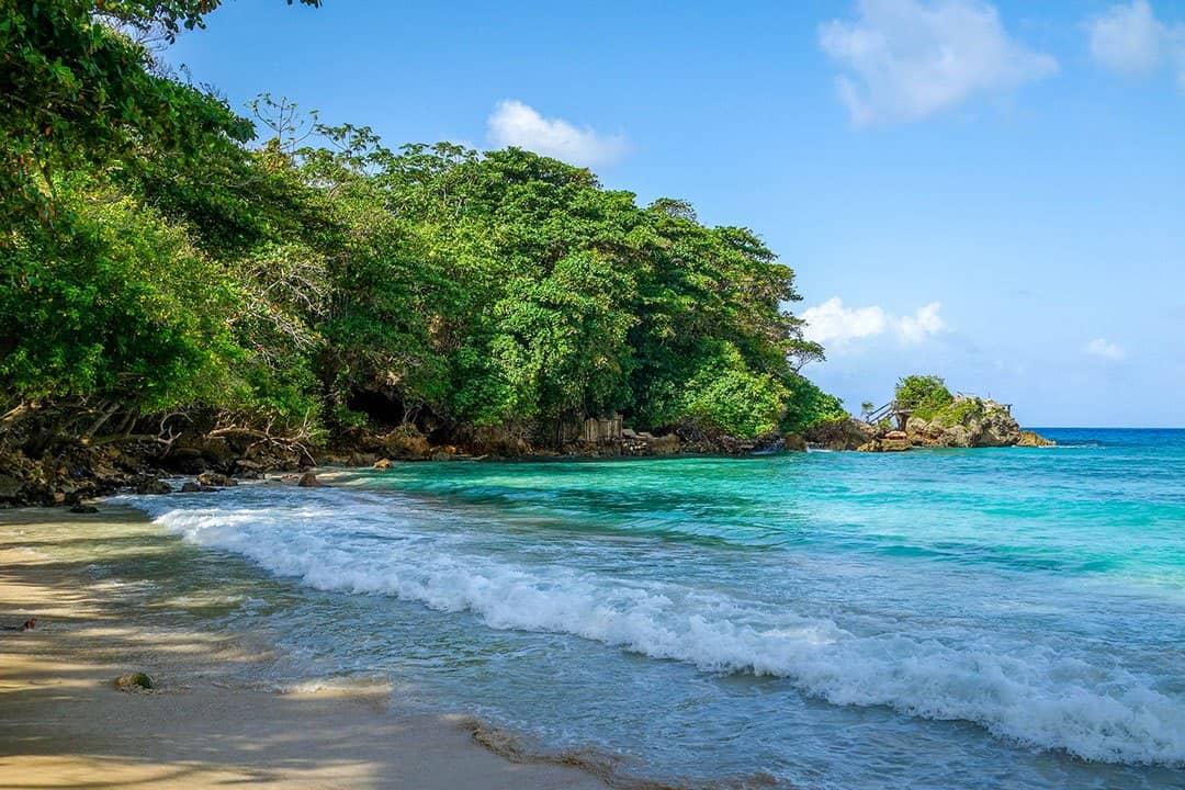 Beach Backpacking In Jamaica