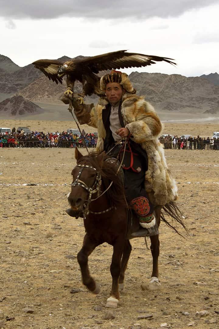 Hunter Mongolian Golden Eagle Festival