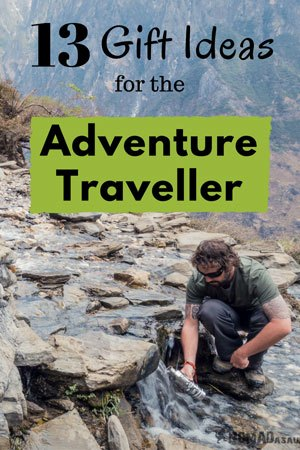 Gift Ideas For The Adventure Traveller