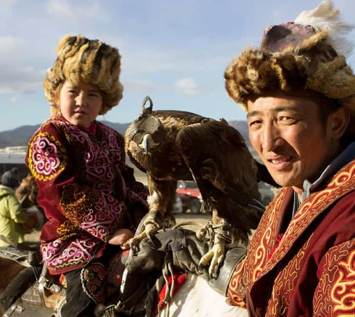 Birds Of Prey At Mongolia's Golden Eagle Festival