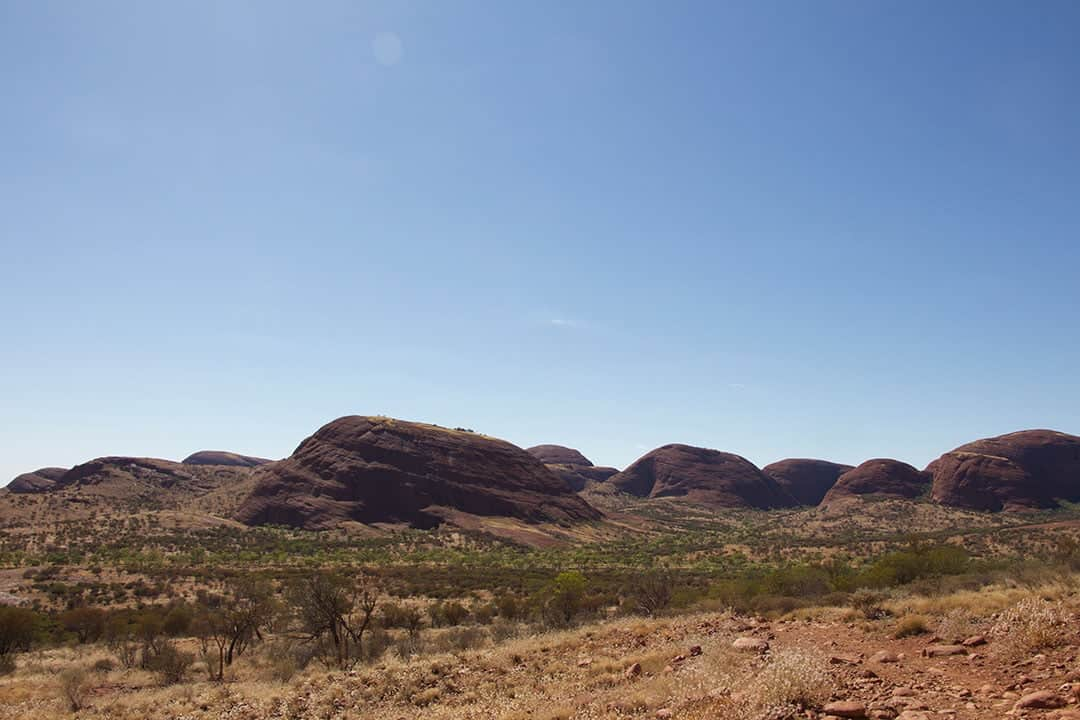 Some Of The Landscapes Of Central Australia