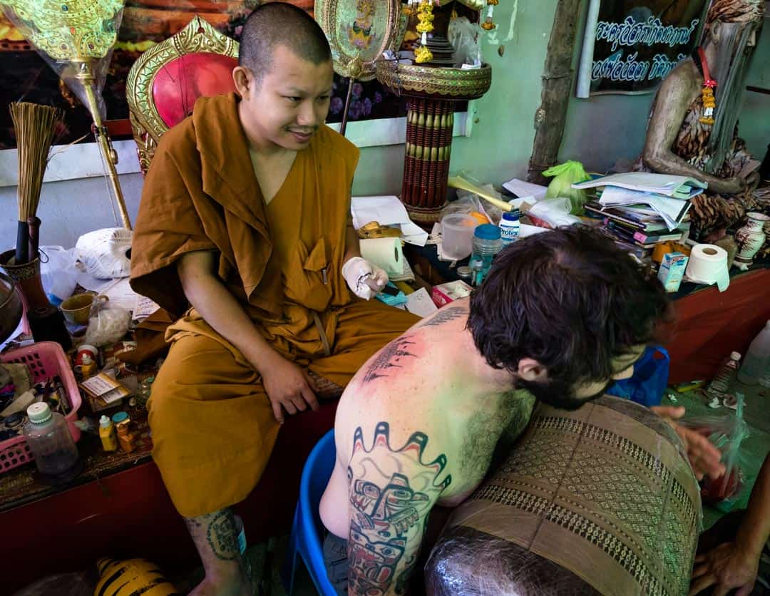 End Sak Yant In Chiang Mai