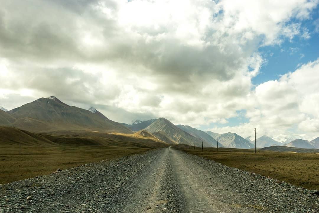 Gravel Road Pamir Highway Adventure