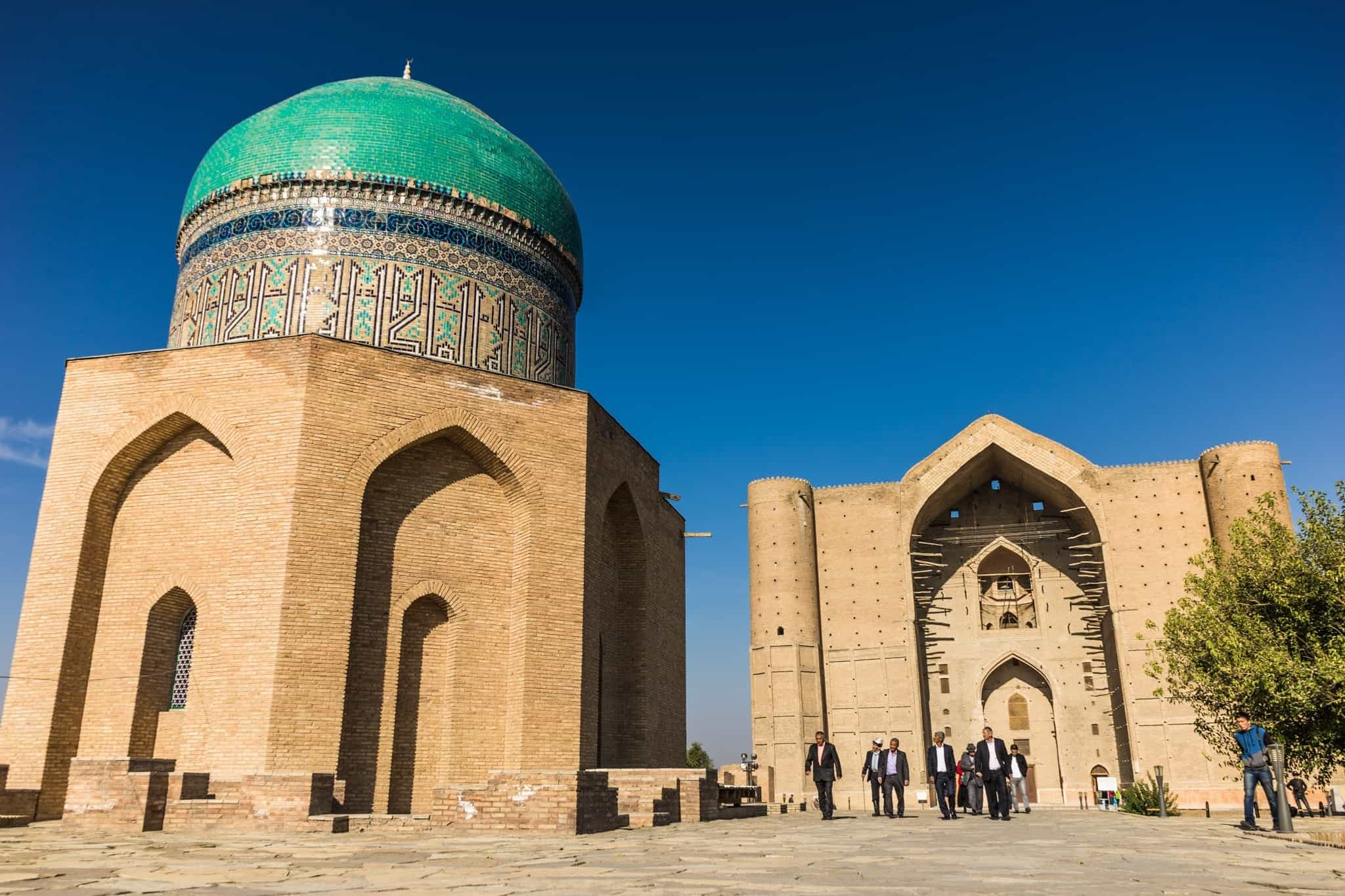 The Mausoleum Of Khawaja Ahmed Yasawi