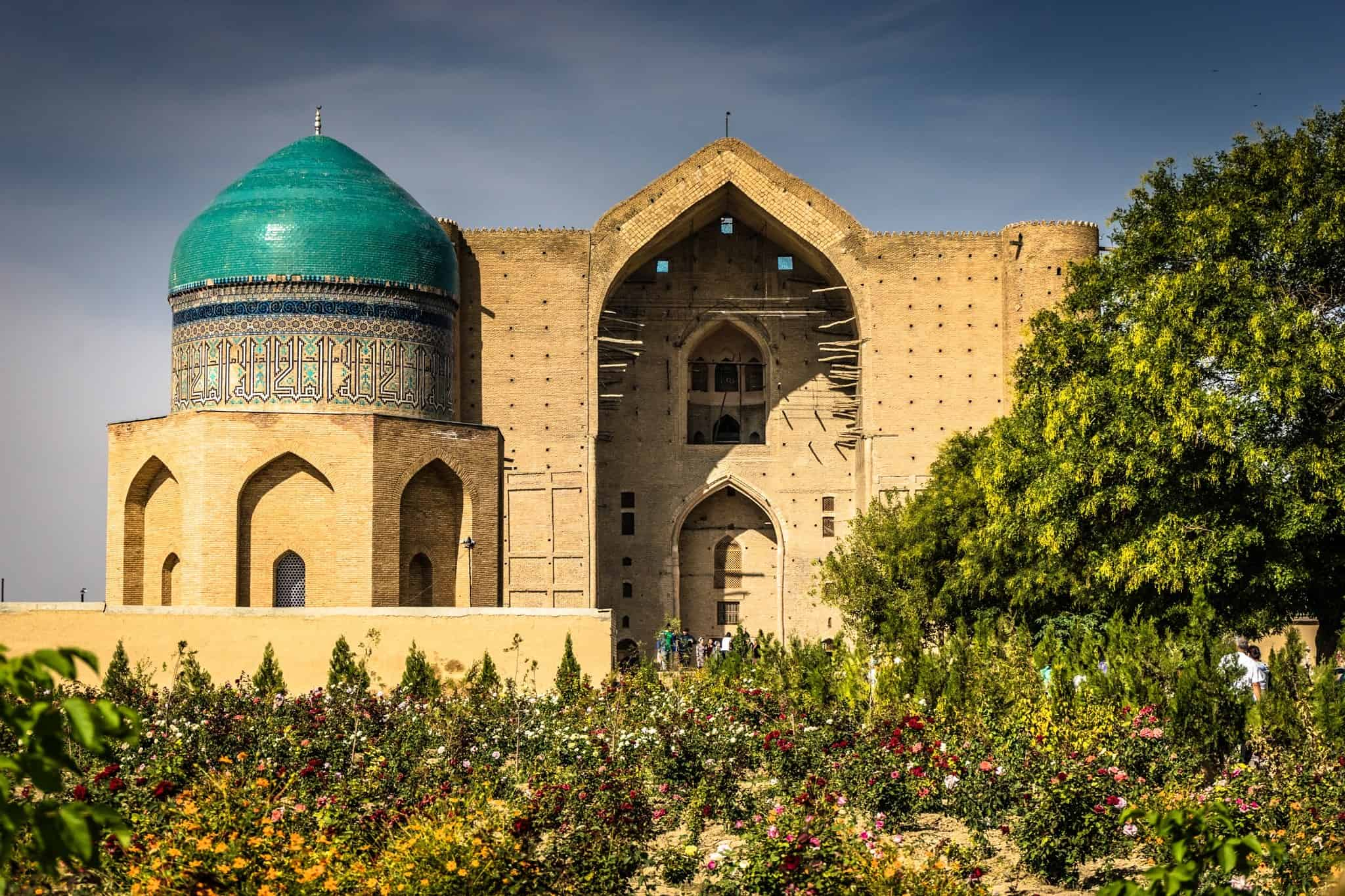 Turkistan He Mausoleum Of Khawaja Ahmed Yasawi