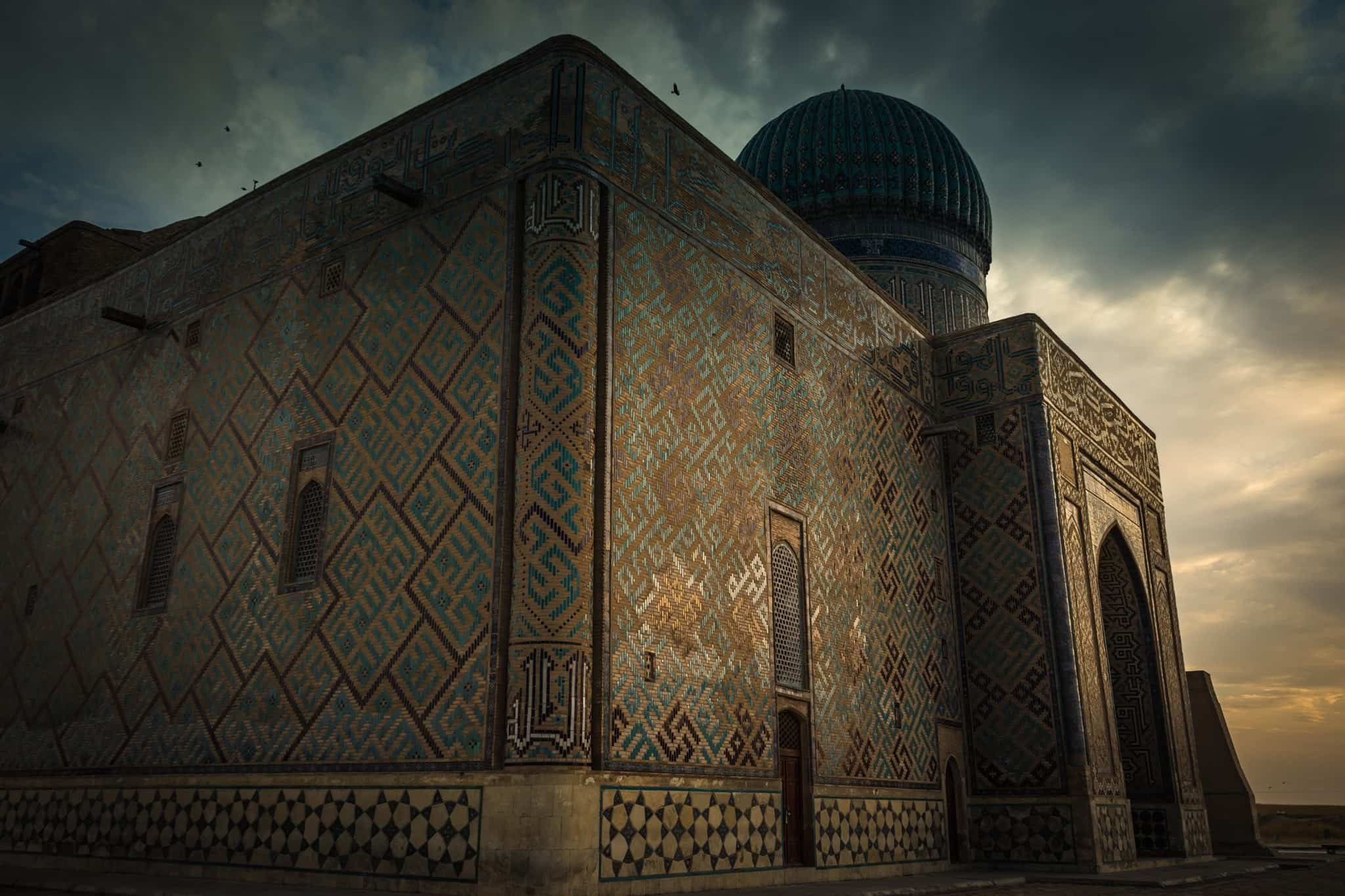 Turkistan The Mausoleum Of Khawaja Ahmed Yasawi