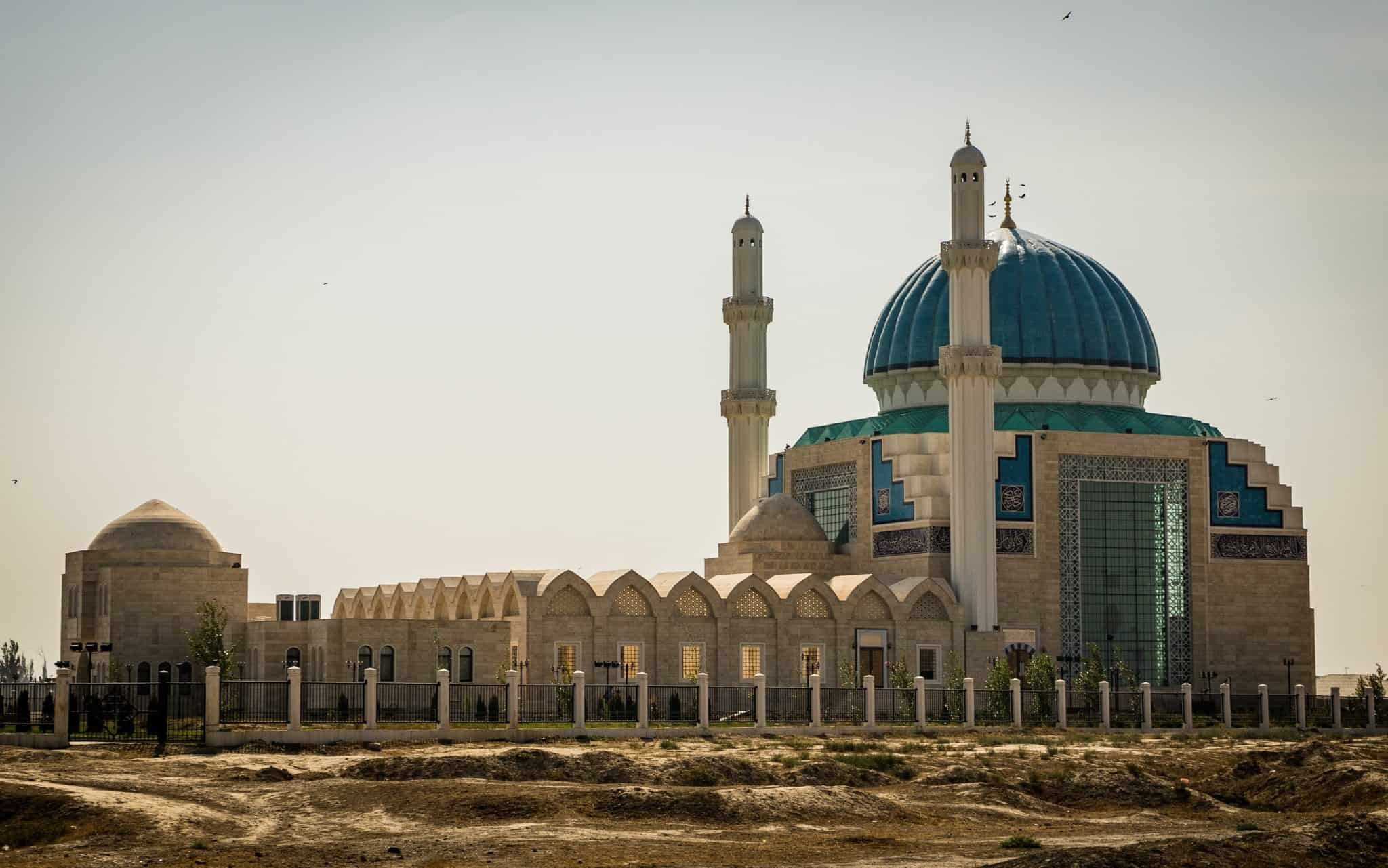 Turkistan Mosque The Mausoleum Of Khawaja Ahmed Yasawi