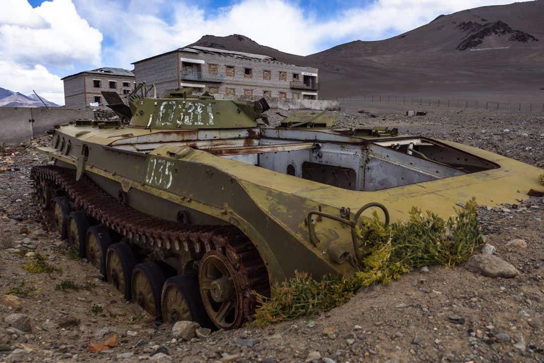 Russian Tank Karakul Pamir Highway Adventure