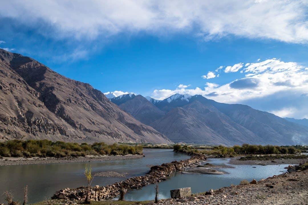 Pamir River Pamir Highway Adventure