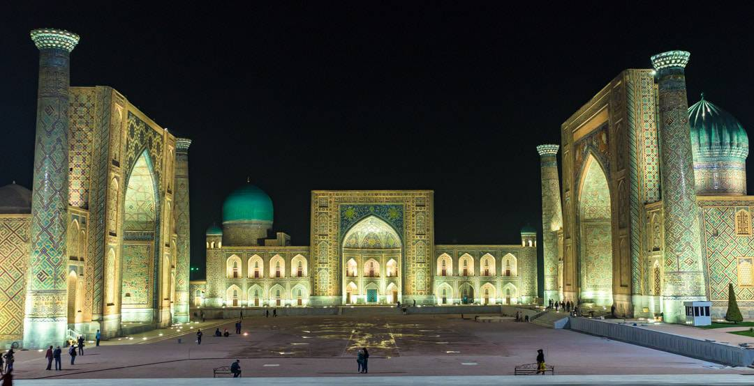 Registan Night Silk Road Photo Journey